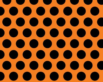 Costume Clubhouse Orange Dot by Sherri Berry Designs for Riley Blake, 1/2 yard