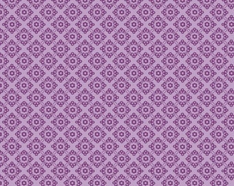 Dress Up Days Grape Damask by Doohikey Designs for Riley Blake, 1/2 yard