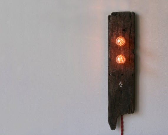 Driftwood Lamp - Double Trouble