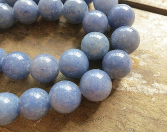 Blue Aventurine Round Ball beads 10mm- 39pcs/strand,