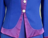 """Vintage Nah Collection 1980s Coordinating Evening Jacket and Flowing Skirt Bust 38"""" Waist 32"""""""