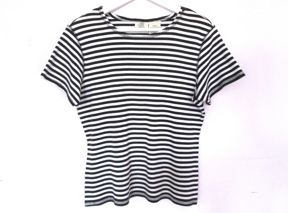 90's Striped blouse size - M