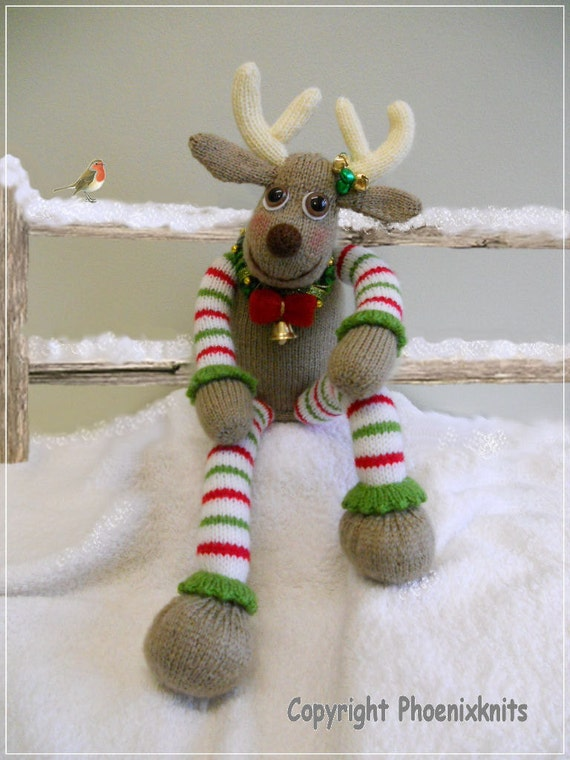Oliver reindeer : Pattern only IMMEDIATE DOWNLOAD