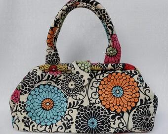 Doctor Bag - Zinnia Floral