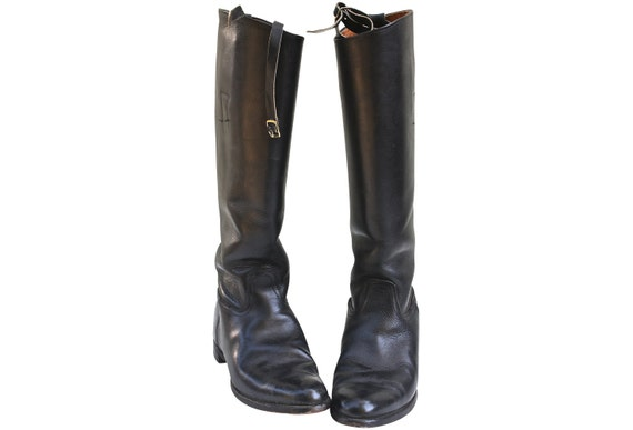 Black Riding Boots Equestrian Dressage