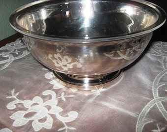 Vintage Silver Gorham Revere Bowl Christmas in July Sale
