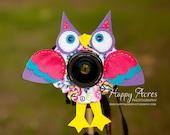 Lens Bling - Peace Owl