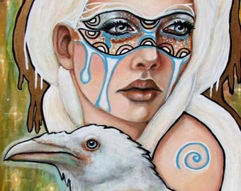 Branwen Celtic Pagan Goddess 11x14 fine art print
