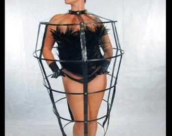 Latex Cage Dress - Maiden Style