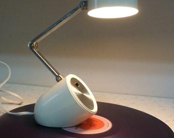 Vintage Mid Century Modern Bullet Desk Lamp 1960's / 70's Mod Eames Era Modern Mod Lamp Task Lamp