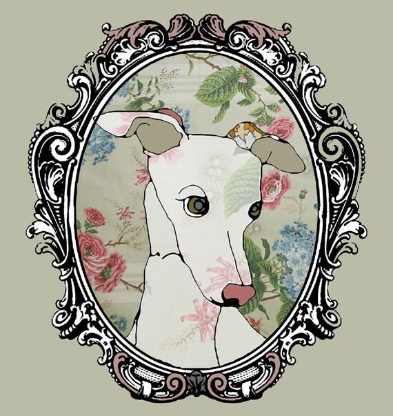 Framed Dog illustration