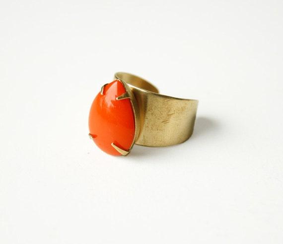 The orange drop ring, adjustable