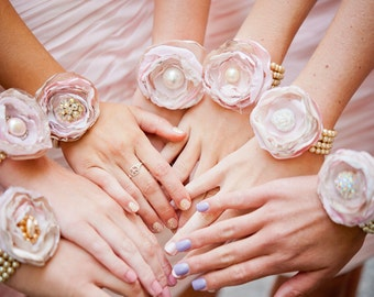 Custom Vintage Wedding Bridesmaid or Mother of the Bride Bracelets