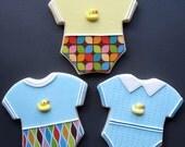 BABY Onesie Cookie Favors - One Dozen