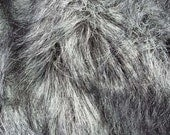 Black White and Grey Faux Fur