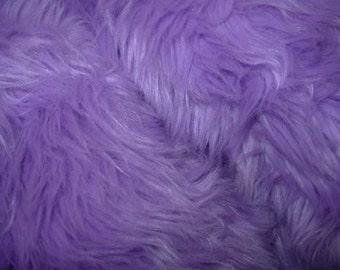 Lavender  Faux Fur Craft Size