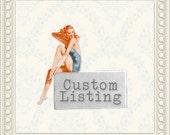 Custom for Katie