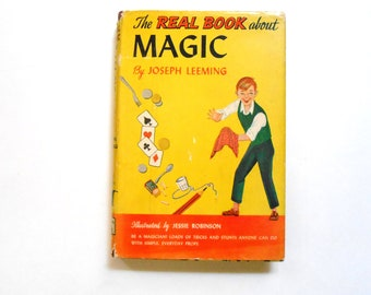 The Real Book About Magic, a 1950s Vintage Children's Book