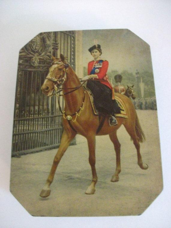 Princess Elizabeth Biscuit Tin