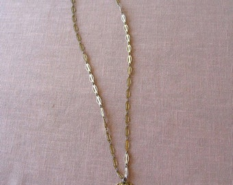 """Vintage  Madona  Necklace 24"""" inches sixties Modern with Pendant"""