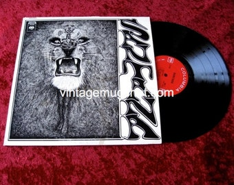SANTANA  Original 1st issue Psych LP  Vintage  Vinyl Record Pychedelic Crazy Price 360 Sound Label
