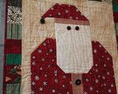Etsy Santa Baby Quilt Door Hanging