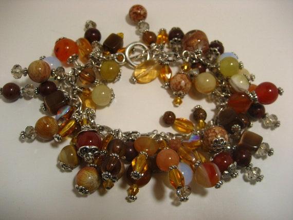 Good Morning Sunshine -- Dangle Bracelet -- Multicolored