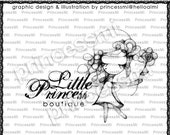 Custom Premade Logo Design - Girl illustration drawing art photography logo business logo boutique  by princess mi logo 01269