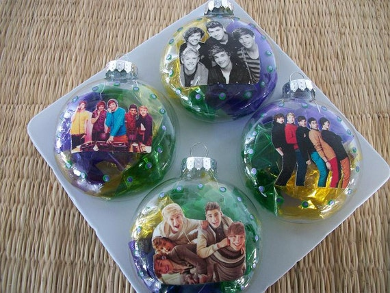 Items similar to Ornaments - One Direction Inspired on Etsy