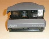 SALE - 1980s Polaroid Spectra System Instant Camera in Originial Hard Case