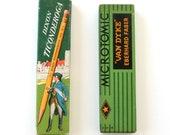 Vintage Pencils in Original Boxes - Van Dyke, Dixon Ticonderoga Eberhard Faber