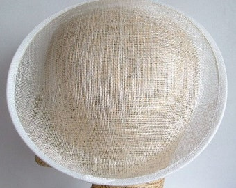 Sinamay 9.5 inch Saucer - Ivory
