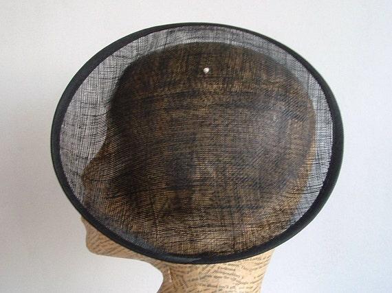 Sinamay 9.5 inch Saucer - Black