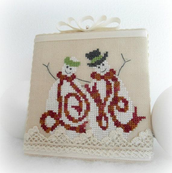 Love Snowman Valentine Decoration