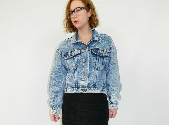 Denim Jacket Stonewashed Blue Medium