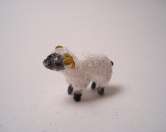 Tiny Sheep for the Dollhouse
