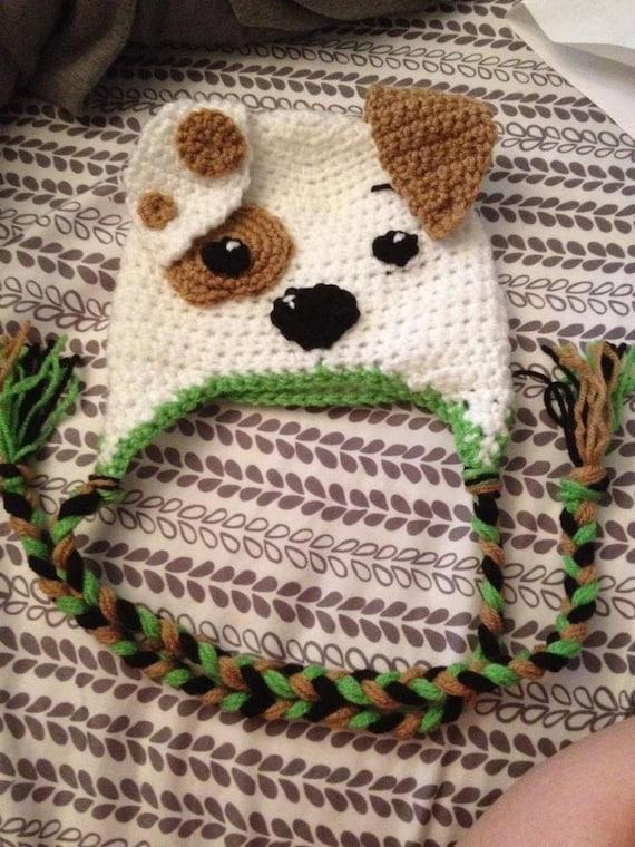 bubble guppies bubble puppy crochet winter hat by