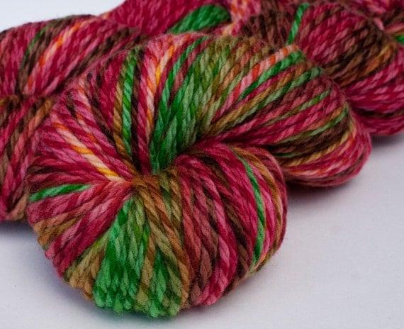 Aran Twist merino, 3.5 oz: HONEYCRISP