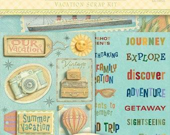 Tim Coffey Vacation Scrap Kit by K&Company