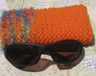 SALE!!!  Orange-You-Glad-It's-Summertime Sunglass Case