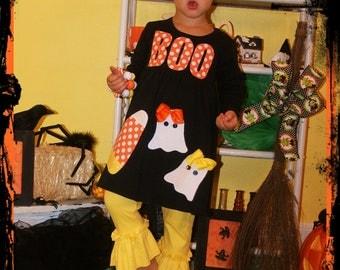 Halloween Ghost Dress Toddler Girls - Infant Toddler Youth Girls - You Choose Dress Color