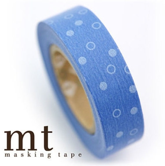 Ocean Pattern MT Washi Masking Tape Roll Japanese Adhesive Stickers WT18