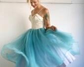 1950s Dress // Cloud Nine Party Dress // Xsmall