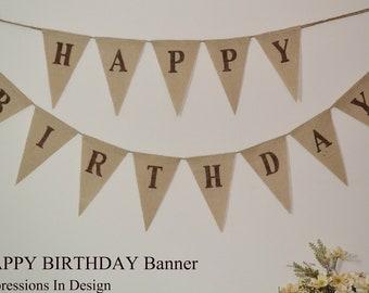 Happy Birthday Banner  ...   Birthday Banner  ....  Birthday Party  ....   Birthday