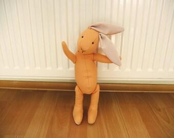 Rabbit Orange Mandarin Bunny