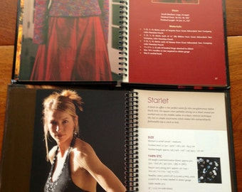 3 Knitting Books Jil Eaton, Handknit Style and Knitting in America