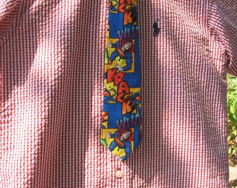 Superman boys necktie