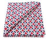 Vintage Americana Pocket Square Handkerchief