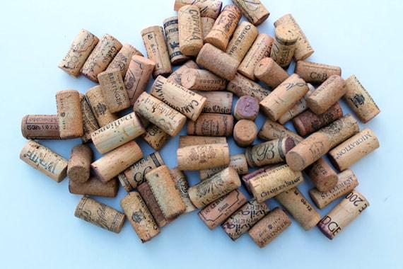 Craft Wine Corks - Golden Yellow Corks - eco craft supply, DIY 24 wine corks crafts