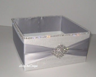 Wedding Box, Program Box, Bubble Box, Open Box, Centerpiece Decor, Favor Basket, Container for Programs, Amenities Box, Wedding Box, Custom